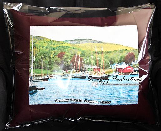 Camden Harbor Pillow by Artisan Bob Hirshberg