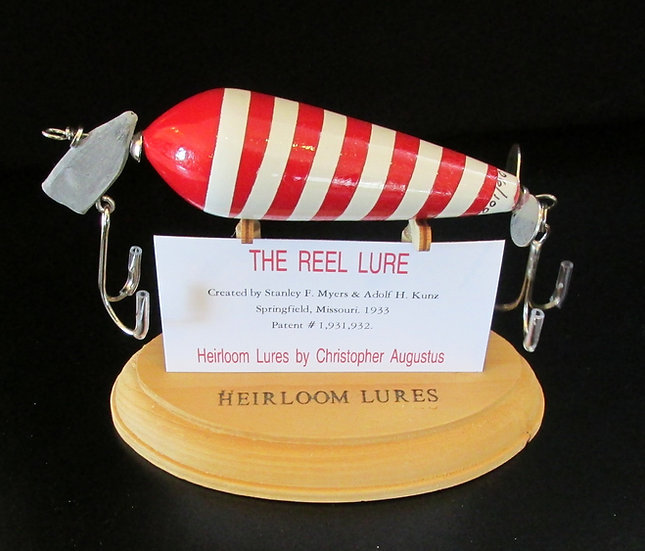 The Reel, Hand Crafted Fish Lure
