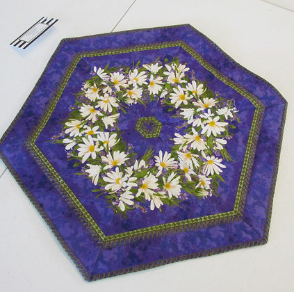 Table Topper made by May Bouchard