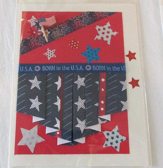 Born in the USA Card