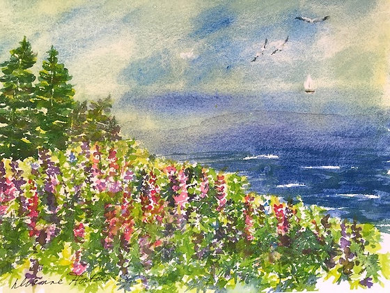 Colors of Maine Print by Artisan Dianne Horton