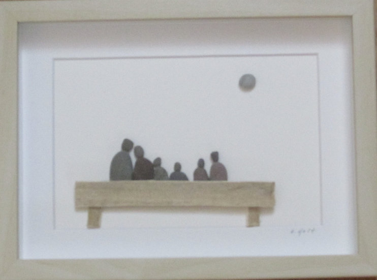 Counting our Blessings,   Framed Wall Hanging