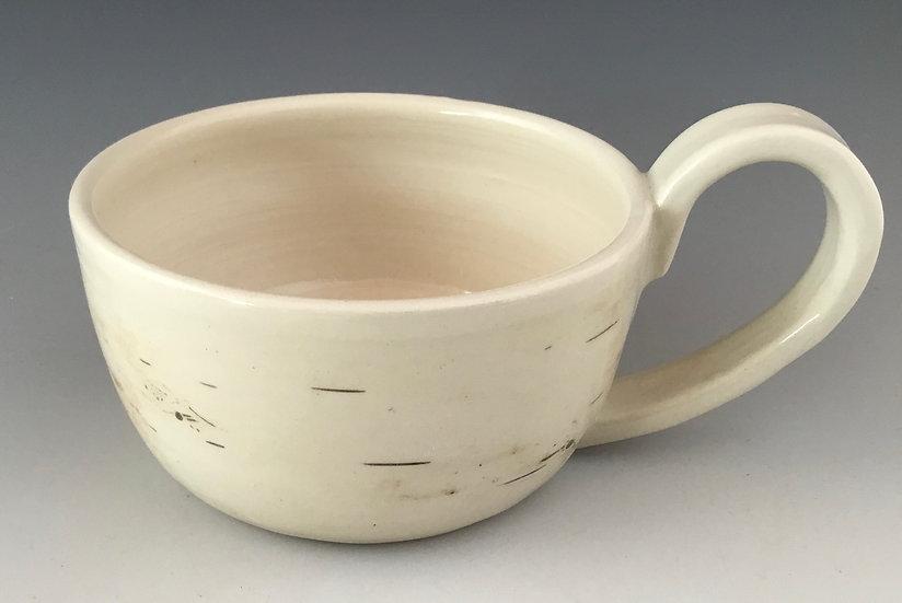 Birch Pottery Handmade Chowder Mug