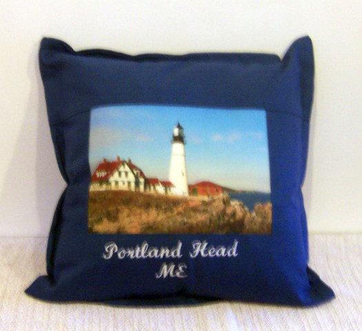 Portland Head LightHouse Pillow