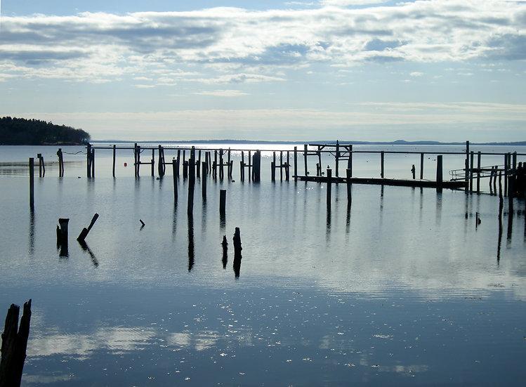 Pier and Blue Sky