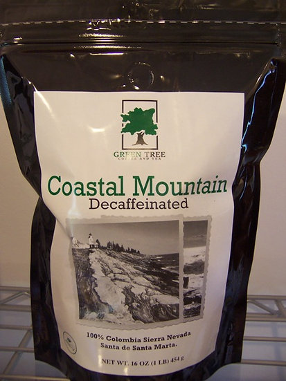 COASTAL MOUNTAIN COFFEE DECAF