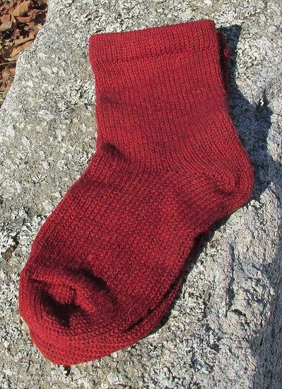 Redwood Mix Alpaca/Wool Handknit Socks