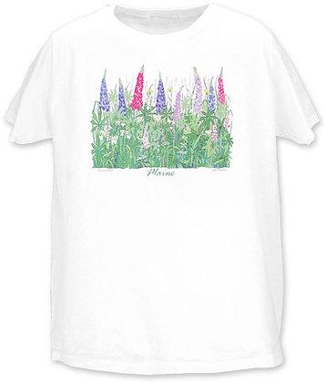 Lupine, Women's T-shirt by Artisan Liberty Graphics