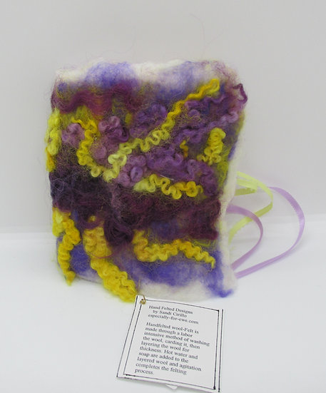 Hand Felted Book