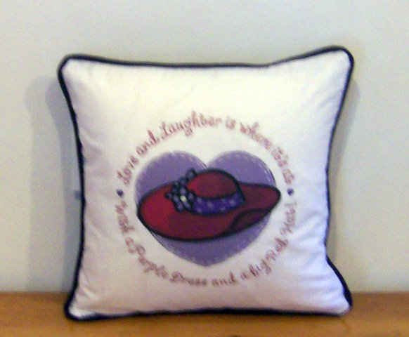 Red Hat Society Pillow