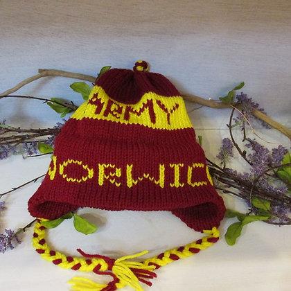 Norwich Army Handknit Hat by Artisan Keepsake NogginKnits