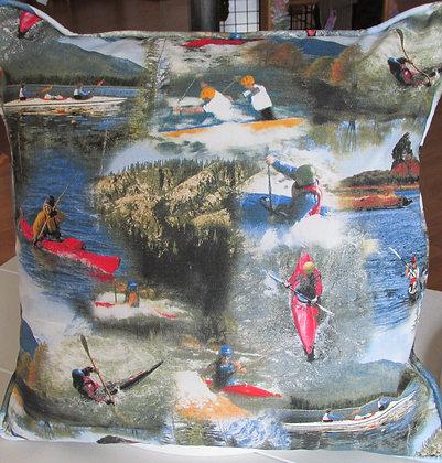 Kayaking Pillow by Artisan Pillow World