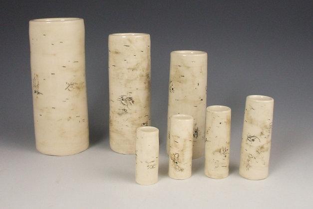 Birch Pottery Handmade Vases by Artisan Elizabeth Radliff