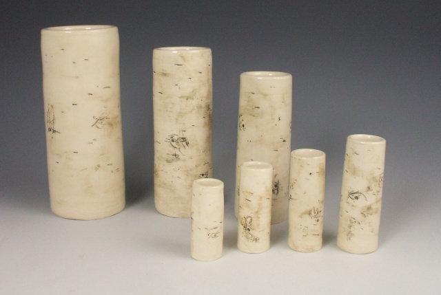 Birch Pottery Handmade Vases