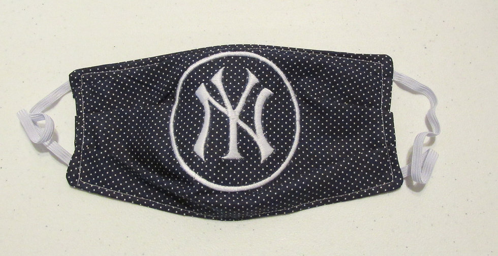 Yankee Embroidered Face Mask