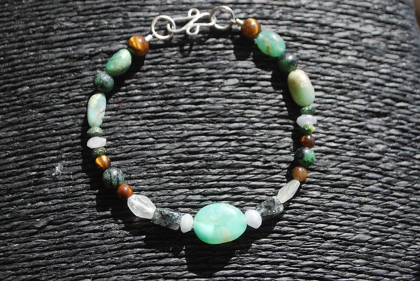 Gemini Multi Stone Bracelet