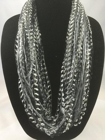 Slate Moonstone  Necklace