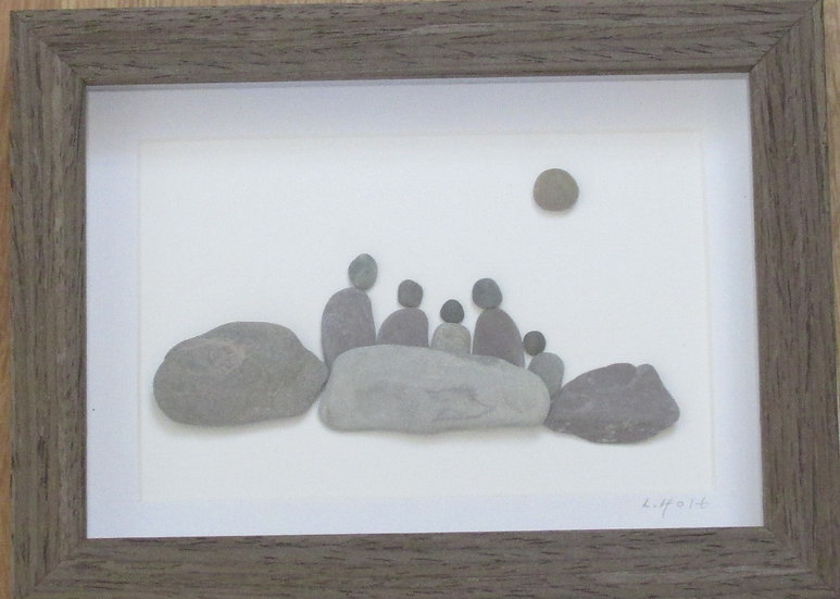 Family, Framed Wall Hanging