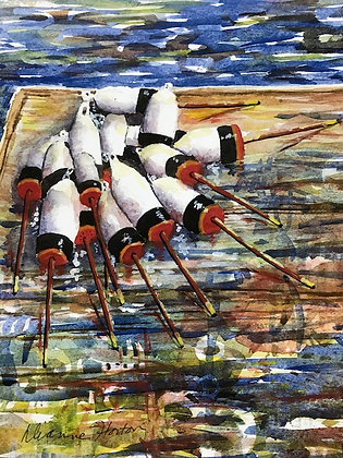 What's the Catch? Print by Artisan Dianne Horton