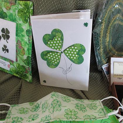 St Patrick's Day hand made card by Artisan Marilyn Parker