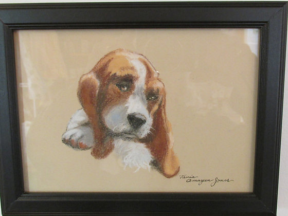Basset Puppy by Artisan Tania Amazeen-Jones