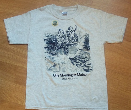 Robert McCloskey One Morning in Maine Youth T-shirt by Artisan Liberty Graphics