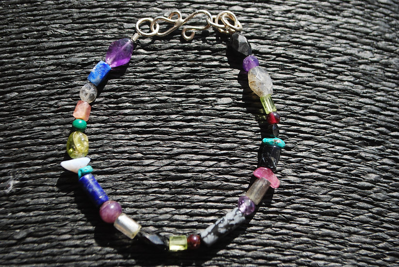 Sagittarius Multi Stone Bracelet