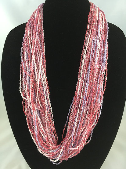 Teaberry Jewel Necklace