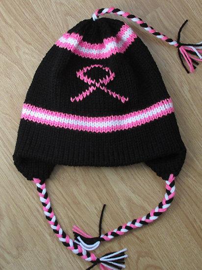 Cancer Survivor Support Handknit Hat