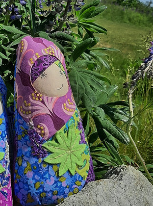 """Louise"" BabiAnna Soft Faerie Doll by Artisan Kathy Beauregard"
