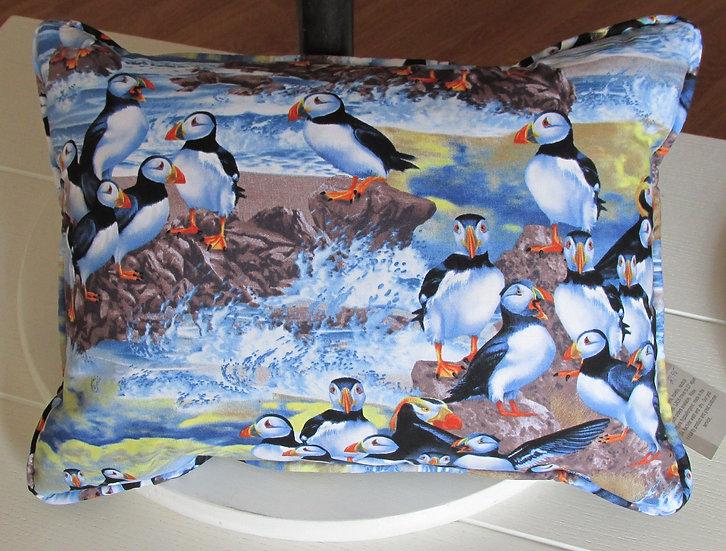 Atlantic Puffins Pillow