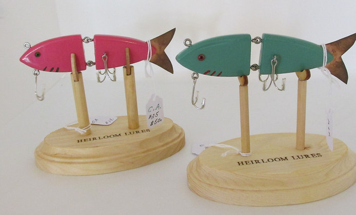 The K&K Animated Minnow Lure, Hand Crafted Fish Lure by Artisan Chris Augustus