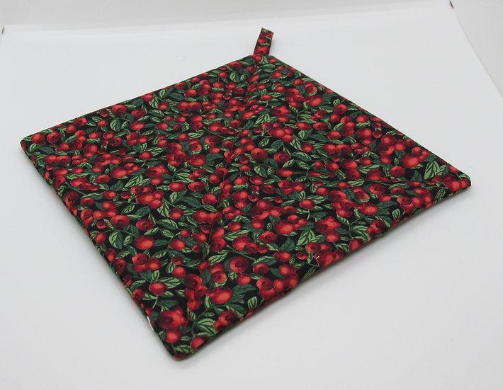 Cranberry Pot Holder