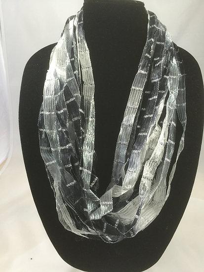 Ebony Ribbon Necklace