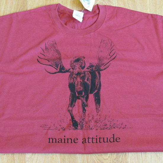Men's Tshirt Maine Attitude