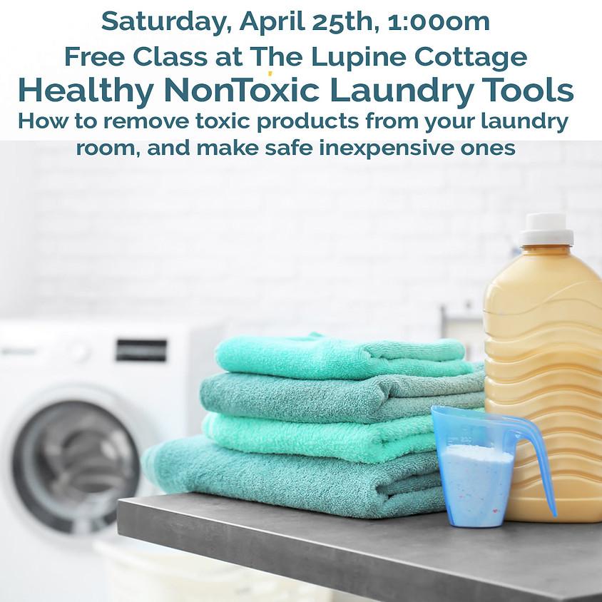Healthy NonToxic Laundry Tools