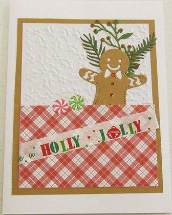 Holly Jolly Card by Artisan Marilyn Parker