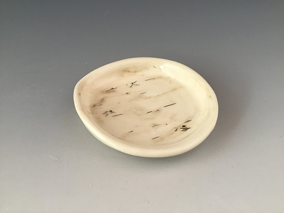 Birch Pottery Handmade Spoon Rest by Artisan Elizabeth Radliff