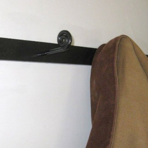 Fiddlehead Coat Rack