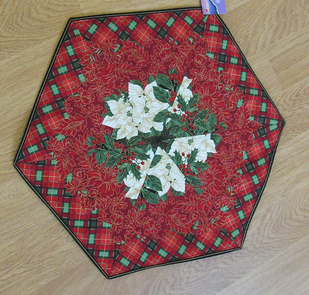 Christmas Table Topper by Artisan May Bouchard