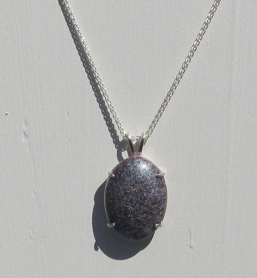 Maine Blueberry Pendant