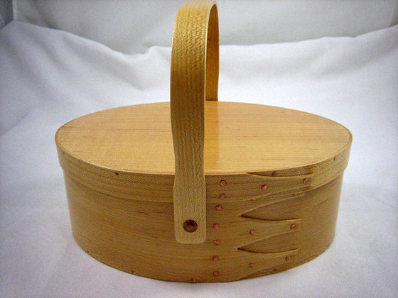 #4 Maple Oval Carrier by Artisan Duane Butler