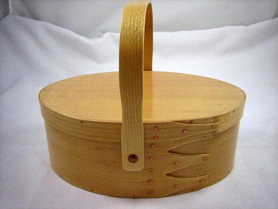 #4 Maple Oval Carrier by Artisan Duane Butler