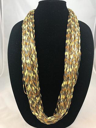 Cobblestone Jewel Necklace by Artisan Jane Arey