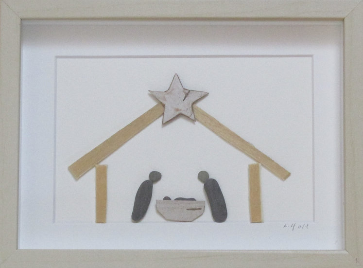 The Real Meaning of Christmas,   Framed Wall Hanging