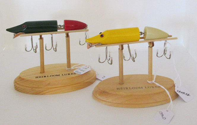 The Vampire, Hand Crafted Fish Lure by Artisan Chris Augustus