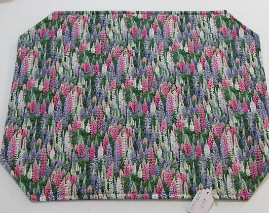 Lupine Placemats by Artisan Pillow World