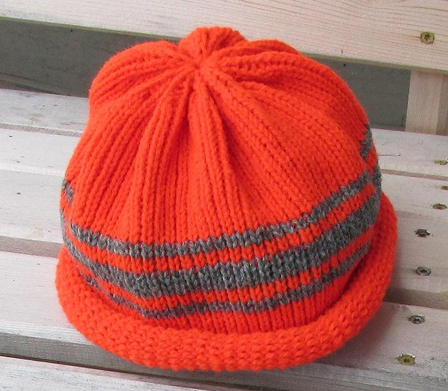 Rolled Brim Wool Hat