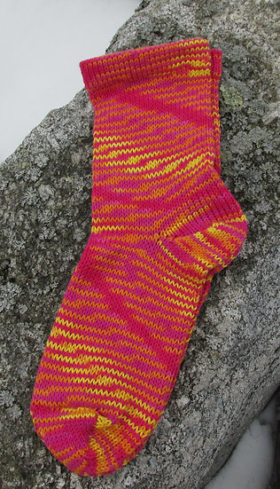 Sunsetter Bamboo Cotton Handknit Socks