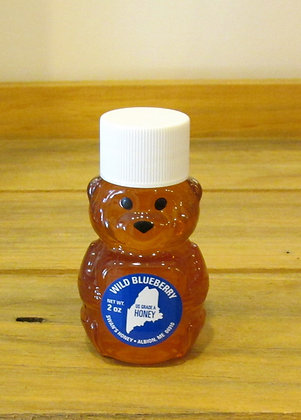 Mini Honey Bear - Wild Blueberry by Artisan Swans Honey